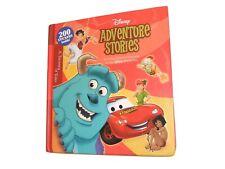 DISNEY ADVENTURE STORIES Book Hardcover ~From Pixar Films~ (19 Stories) *EUC*