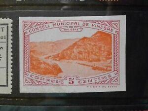 SPAIN CIVIL WAR GUERRA - VINEBRE - LOCAL CITY POST