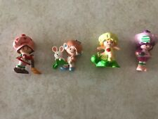 """1981-1982 Strawberry Shortcake Figurines-1 1/2""""-2"""" Tall Approximately"""