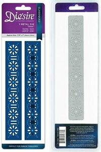 Crafter's Companion Die'sire Metal Cutting Die - Grace - Ribbon Threading