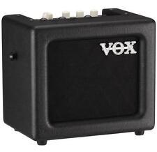 VOX MINI3G2BK 3 Watt Portable Battery Powered Modeling Guitar Amplifier, Black