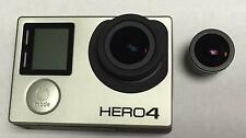 GOPRO HERO4 BLACK CAMERA 5.4MM RECTILINEAR FLAT LENS+PROFILE MOD NO PINK EDGES