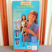 "Disney POCAHONTAS Barbie Doll 1990s BEAD-so-PRETTY  Large 18"" 1995 #14055"