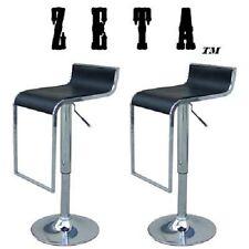 Zeta Contemporary Adjustable Swivel Bar Stool (Set of 2)