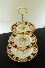 Vintage Royal Albert Lady Hamilton  3 tier afternoon tea stand  Parkinsons UK