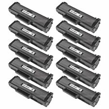 10 MLTD104S MLT-D104S BLACK Toner Cartridge for Samsung ML-1665 ML-1666 ML-1667