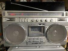 Sharp GF 8989 Stereo Radio Cassette Recorder Vintage Ghettoblaster Funktioniert