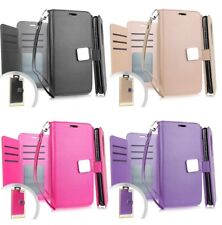 For LG Aristo 5 - Book Style Wallet Protective Case Cover with Card Pockets