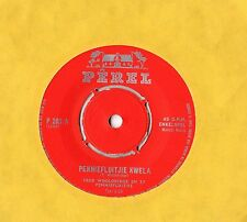 "Fred Wooldridge - Penniefluitjie Kwela 7"" Single / Penny Whistle"