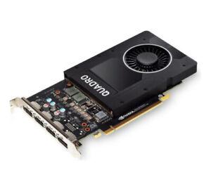 Nvidia Quadro P2200, 5GB GDDR5X, 4x DP (PNY VCQP2200-PB), 3536403372538