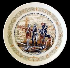 """Lafayette Legacy Plate Ii (1975) - Marquis Disembarks from """"Victoire"""" - Vg+/Nm-"""