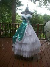 VINTAGE 80S AUTHENTIC PROM PARTY DRESS XXS XS TEEN