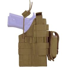Condor Coyote Brown H-BERETTA M9 MOLLE Tactical Pistol Holster w/ Magazine Pouch