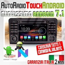 "AUTORADIO 7"" ANDROID 7.1.2 Mercedes Classe ML GL 2005-2012 W164 X164 300 320 ..."