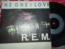 R.E.M. – The One I Love I.R.S. Records – IRM 146  UK Vinyl 7inch Single