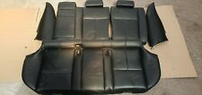 BMW 5 SERIES E39 1998-2013 TOURING BLACK COMPLETE INTERIOR LEATHER SEATS