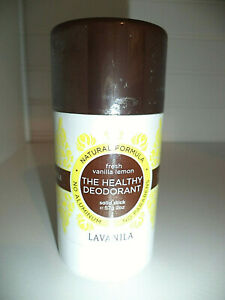Lavanila The Healthy Deodorant Pure Vanilla 2 oz Natural NEW FRESH SEALED