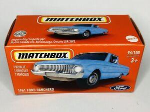 Matchbox 1961 Ford Ranchero Blue 2021 New Release