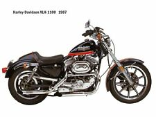 vintage /classic 1987  Harley Davidson  Motorcycle Ad /Poster/photo