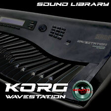 KORG WAVESTATION Original Factory & New Created Sound Library/Editors on CD