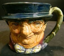 "Vintage Royal Doulton Tony Weller Toby Mug (1930-33) 3"" x 3.5"" x 4.18"" Excellent"