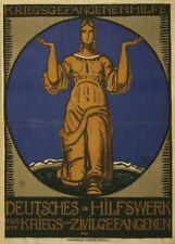 Prisoner of War Relief Fund - German WW1 Propaganda Poster