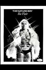 RIC FLAIR 8X10 WON 31 CHAMPIONSHIPS GREATEST WRESLTER OF ALL TIME!  JSA  #P41815