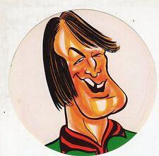 [LC5] Adesivo Caricatura Originale anni '70 - FIORENTINA ALBERTOSI