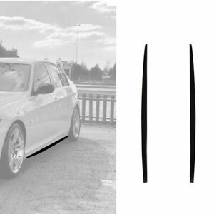 Side skirt sill extension lower side lip for BMW E90 LCI 3 series 2009-2011