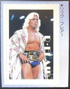 1982 BBM Sha USA Wrestlers Ric Flair Rookie Card