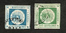 Uruguay - SC# 10 & 11 Used  -  Lot 0520141