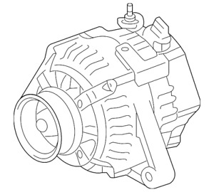 Genuine Toyota Alternator 27060-37041