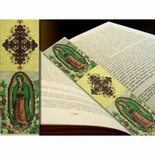 "Lady of Guadalupe Tapestry Icon Book Marker 9 1/8""x2"""