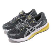 Asics Gel Nimbus 21 Grey White Yellow Women Running Shoes Sneakers 1012A156-021