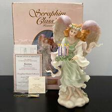 Seraphim Classics Kristen Blessed Advent Angel Mib Limited Edition Rare Mib
