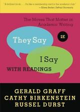 They Say / I Say  with Readings 2E  by...