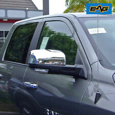 Triple Chrome Top Half Mirror Cover for 09-16 Dodge Ram 1500/10-16 Ram 2500/3500