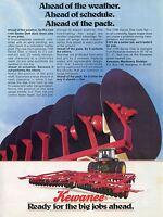 1981 Kewanee 1100 Disk Plow Print Ad