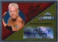 WWE Mr. Kennedy Anderson 2006 Topps Heritage II Chrome Autograph Card DWC2