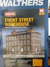"Walthers Cornerstone HO #3069 Front Street Warehouse -- 6-3/4 x 15-3/8 x 10"""