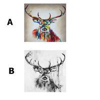 Print Painting Original Art Australia Stag Moose Elk abstract Canvas framed