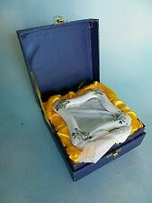 "Royal Tara Photo Frame Fine Bone China Ireland 3 1/2"" X 3 1/2"" Floral New In Box"