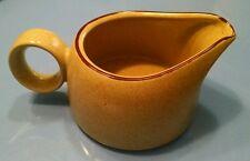 """Noritake Stoneware """"Gingerbread"""" Creamer Retired Japan tan pour pitcher gift"""