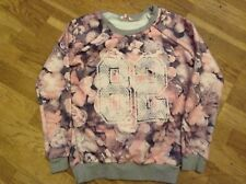 Miss e-vie Patterned Girls Jumper Age 13-14 Yrs