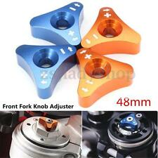 2x 48mm Front Fork Knob Adjuster For KTM 125 250 350 450 525 530cc SX-F EXC XC-W
