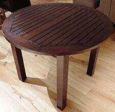 Teak Rundtisch colonial 5406 D. 80 cm H. 76 cm Wohnnmöbel Tisch Küche Esstisch