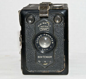 ZESS IKON BOX TENGOR WITH CASE. Film Tested