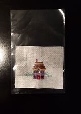 Completed cross stitch piece - Winter Christmas Sweet Home .