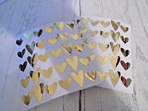 Heart Wine Glass Decal Sticker Rose Gold Silver Red Black White Scrapbook