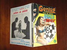 GENIUS  GIALLI DEL BRIVIDO NUMERO 21 MARZO 1967 CON CARTOLINA MODELLA